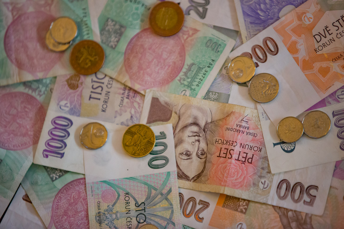 Tsjechische kronen